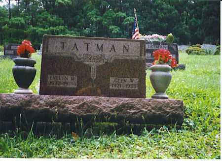 BAKER TATMAN, EVELYN MAXINE - Vinton County, Ohio | EVELYN MAXINE BAKER TATMAN - Ohio Gravestone Photos