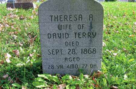 TERRY, THERESA - Vinton County, Ohio | THERESA TERRY - Ohio Gravestone Photos