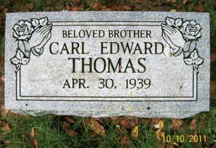THOMAS, CARL EDWARD - Vinton County, Ohio | CARL EDWARD THOMAS - Ohio Gravestone Photos