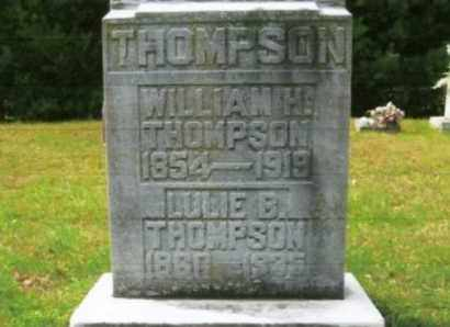 THOMPSON, WILLIAM H. - Vinton County, Ohio | WILLIAM H. THOMPSON - Ohio Gravestone Photos