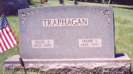 TRAPHAGAN, ELLIS A. - Vinton County, Ohio | ELLIS A. TRAPHAGAN - Ohio Gravestone Photos