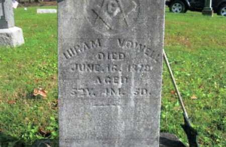 VOWELL, HIRAM - Vinton County, Ohio | HIRAM VOWELL - Ohio Gravestone Photos