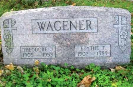WAGENER, EDYTHE F. - Vinton County, Ohio | EDYTHE F. WAGENER - Ohio Gravestone Photos