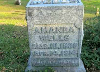 WELLS, AMANDA - Vinton County, Ohio | AMANDA WELLS - Ohio Gravestone Photos