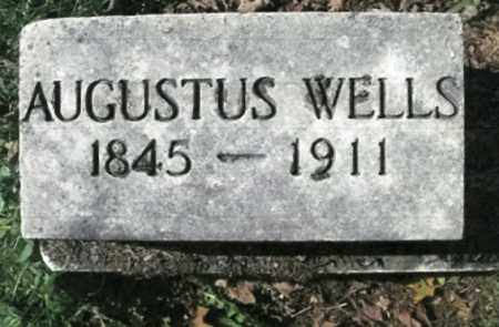 WELLS, AUGUSTUS - Vinton County, Ohio | AUGUSTUS WELLS - Ohio Gravestone Photos