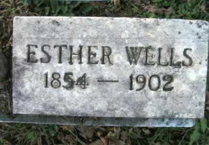 WELLS, ESTHER MARGARET - Vinton County, Ohio | ESTHER MARGARET WELLS - Ohio Gravestone Photos