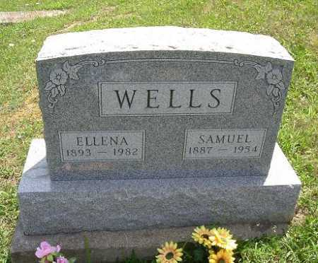 WELLS, ELLANA - Vinton County, Ohio | ELLANA WELLS - Ohio Gravestone Photos