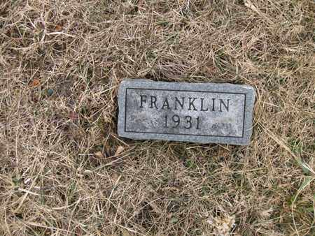 WELLS, FRANKLIN - Vinton County, Ohio | FRANKLIN WELLS - Ohio Gravestone Photos