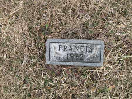 WELLS, FRANCIS - Vinton County, Ohio | FRANCIS WELLS - Ohio Gravestone Photos