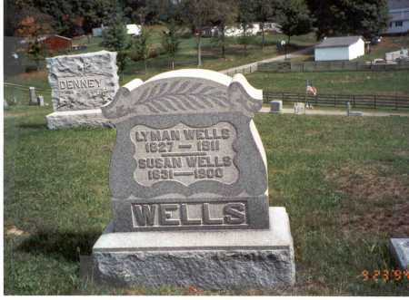 WELLS, SUSAN - Vinton County, Ohio | SUSAN WELLS - Ohio Gravestone Photos