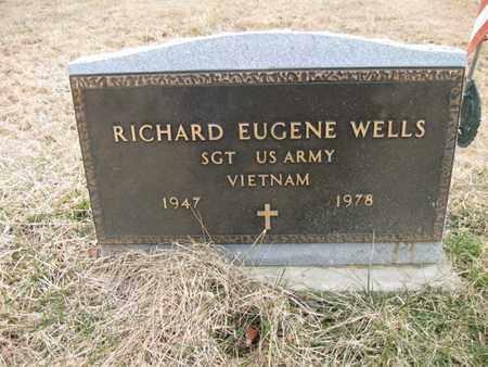 WELLS, RICHARD EUGENE - Vinton County, Ohio | RICHARD EUGENE WELLS - Ohio Gravestone Photos