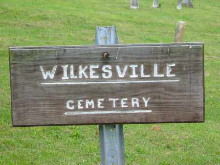 WILKESVILLE, CEMETERY - Vinton County, Ohio | CEMETERY WILKESVILLE - Ohio Gravestone Photos