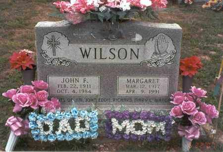 WILSON, JOHN F. - Vinton County, Ohio | JOHN F. WILSON - Ohio Gravestone Photos
