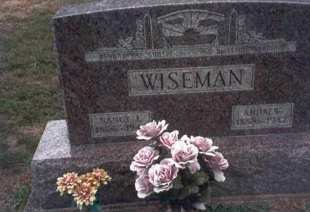 MALONE WISEMAN, NANCY J. - Vinton County, Ohio | NANCY J. MALONE WISEMAN - Ohio Gravestone Photos