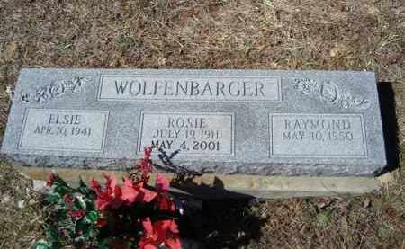 WOLFENBARGER, RAYMOND - Vinton County, Ohio | RAYMOND WOLFENBARGER - Ohio Gravestone Photos