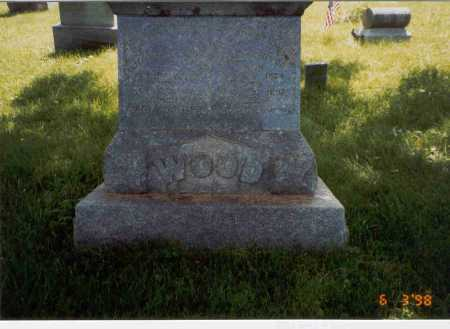 WOOD, ELIZABETH ANN - Vinton County, Ohio | ELIZABETH ANN WOOD - Ohio Gravestone Photos