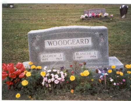 WOODGEARD, BLANCHE L. - Vinton County, Ohio | BLANCHE L. WOODGEARD - Ohio Gravestone Photos