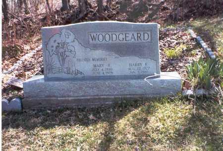 WOODGEARD, MARY R. - Vinton County, Ohio | MARY R. WOODGEARD - Ohio Gravestone Photos
