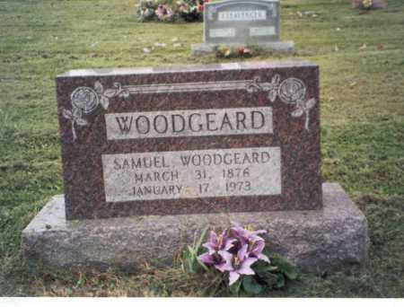 WOODGEARD, SAMUEL - Vinton County, Ohio | SAMUEL WOODGEARD - Ohio Gravestone Photos