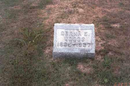 WOODS, CORNA - Vinton County, Ohio | CORNA WOODS - Ohio Gravestone Photos