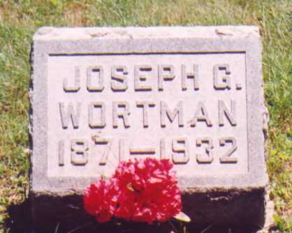 WORTMAN, JOSEPH G. - Vinton County, Ohio | JOSEPH G. WORTMAN - Ohio Gravestone Photos