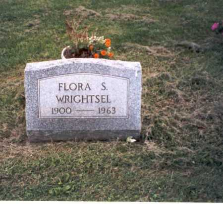 WRIGHTSEL, FLORA S. - Vinton County, Ohio | FLORA S. WRIGHTSEL - Ohio Gravestone Photos