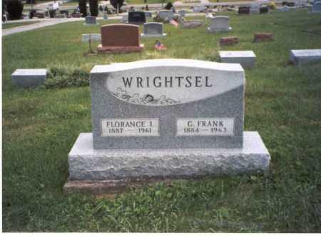 WRIGHTSEL, FLORANCE L. - Vinton County, Ohio | FLORANCE L. WRIGHTSEL - Ohio Gravestone Photos