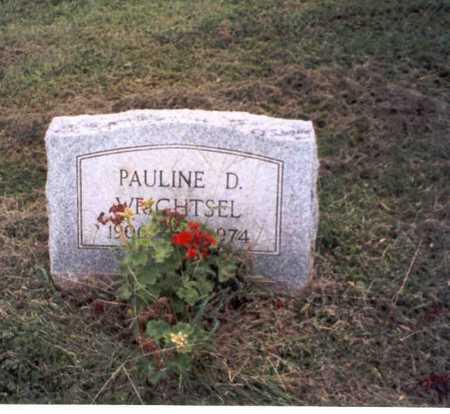 WRIGHTSEL, PAULINE . - Vinton County, Ohio | PAULINE . WRIGHTSEL - Ohio Gravestone Photos