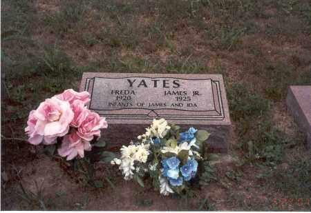 YATES, FREDA - Vinton County, Ohio | FREDA YATES - Ohio Gravestone Photos