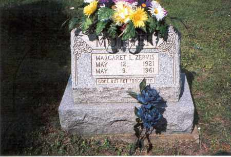 ZERVIS, MARGARET L. - Vinton County, Ohio   MARGARET L. ZERVIS - Ohio Gravestone Photos