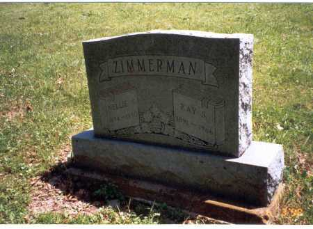 ZIMMERMAN, RAY S. - Vinton County, Ohio | RAY S. ZIMMERMAN - Ohio Gravestone Photos