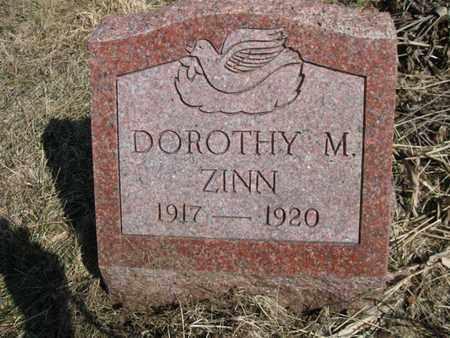 ZINN, DOROTHY MAE - Vinton County, Ohio | DOROTHY MAE ZINN - Ohio Gravestone Photos