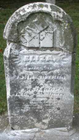 ANTRIM, ELIZA - Warren County, Ohio | ELIZA ANTRIM - Ohio Gravestone Photos