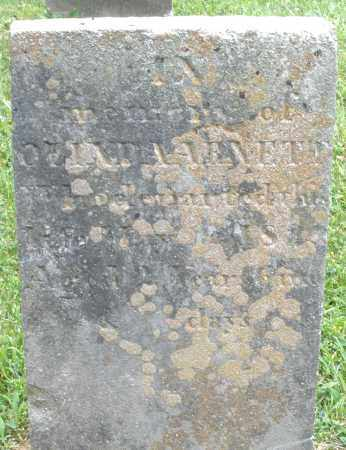 ARNETT, OLINDA - Warren County, Ohio | OLINDA ARNETT - Ohio Gravestone Photos