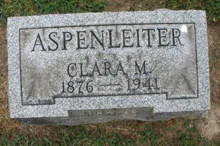 ASPENLEITER, CLARA M. - Warren County, Ohio | CLARA M. ASPENLEITER - Ohio Gravestone Photos