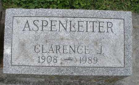 ASPENLEITER, CLARENCE J. - Warren County, Ohio | CLARENCE J. ASPENLEITER - Ohio Gravestone Photos