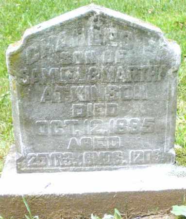 ATKINSON, CHARLES F. - Warren County, Ohio | CHARLES F. ATKINSON - Ohio Gravestone Photos
