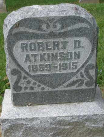 ATKINSON, ROBERT   D. - Warren County, Ohio | ROBERT   D. ATKINSON - Ohio Gravestone Photos
