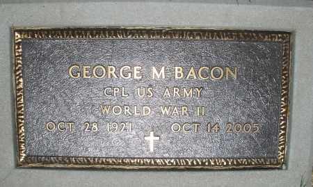BACON, GEORGE M. - Warren County, Ohio | GEORGE M. BACON - Ohio Gravestone Photos