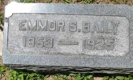 BAILY, EMMOR S. - Warren County, Ohio | EMMOR S. BAILY - Ohio Gravestone Photos