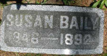 BAILY, SUSAN - Warren County, Ohio | SUSAN BAILY - Ohio Gravestone Photos