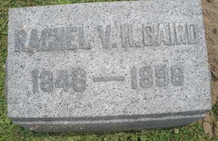 BAIRD, RACHEL V. H. - Warren County, Ohio | RACHEL V. H. BAIRD - Ohio Gravestone Photos