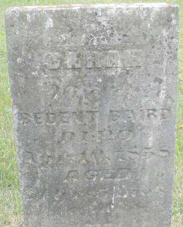 BAIRD, SARAH - Warren County, Ohio | SARAH BAIRD - Ohio Gravestone Photos