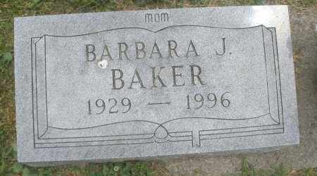 BAKER, BARBARA J. - Warren County, Ohio | BARBARA J. BAKER - Ohio Gravestone Photos