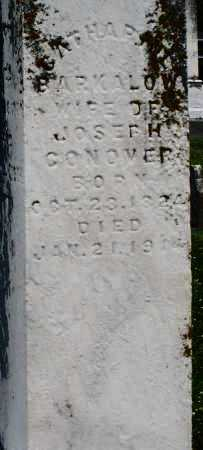 BARKALOW CONOVER, CATHARINE - Warren County, Ohio | CATHARINE BARKALOW CONOVER - Ohio Gravestone Photos