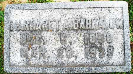 BARKALOW, MARGARET A. - Warren County, Ohio | MARGARET A. BARKALOW - Ohio Gravestone Photos