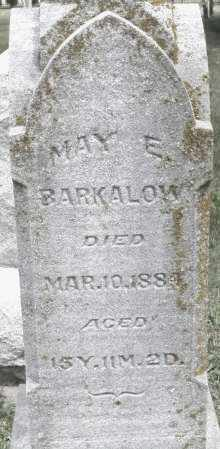 BARKALOW, MAY E. - Warren County, Ohio | MAY E. BARKALOW - Ohio Gravestone Photos