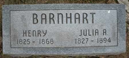 BARNHART, JULIA A. - Warren County, Ohio | JULIA A. BARNHART - Ohio Gravestone Photos