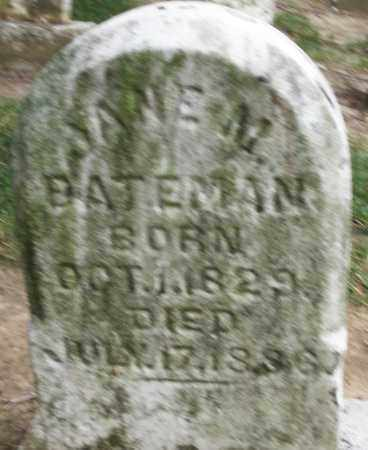 BATEMAN, JANE M. - Warren County, Ohio | JANE M. BATEMAN - Ohio Gravestone Photos