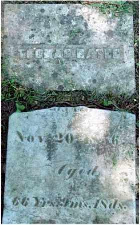 BATES, THOMAS - Warren County, Ohio   THOMAS BATES - Ohio Gravestone Photos